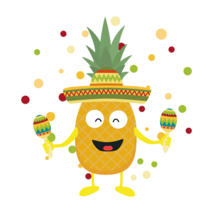 Mexico Pineaplle Fiesta