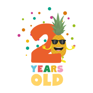 Two Years Second Birthday Party Pineapple
