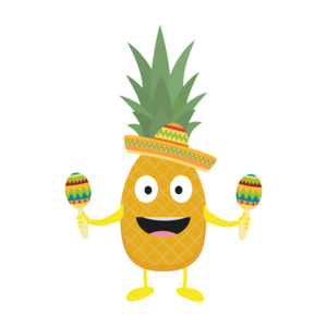 Pineapple Fiesta Sombrero Party