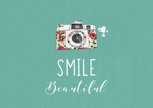 Smile Beautiful With Camera