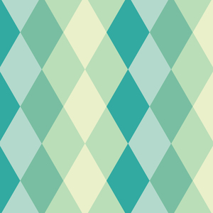 Soft Green Tile Colors Pattern