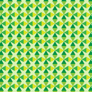 Green Yellow Triangles