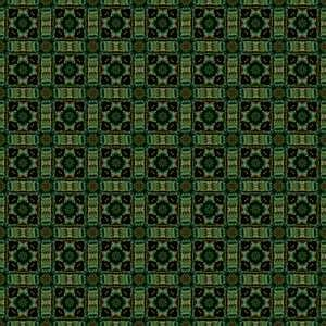 Green Decorative Pattern 2