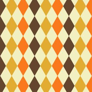 Multicolor Rhombus Pattern 1