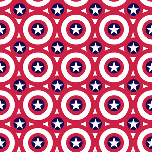 Captain America Shield Pattern 1