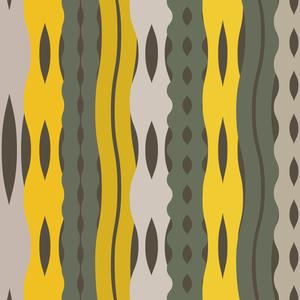 Stylish African Seamless Illustration