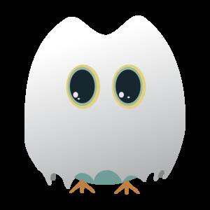Owl In Halloween Costume