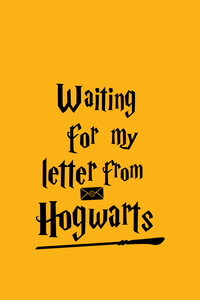 Waiting For My Letter From Hogwarts