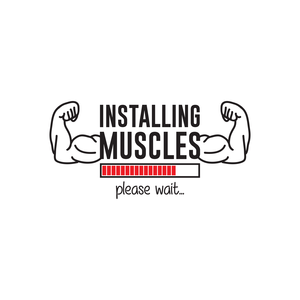 Installing Muscles Please Wait