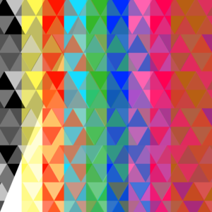 Triangles Multicolor