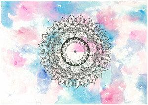 Watercolour Mandala 2