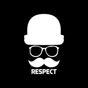Men Respect On Black