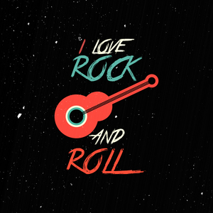 I Love Rock And Roll On Black