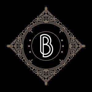 Retro Black Letter B