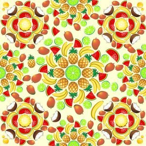 Mandala Summer Fruits And Juice