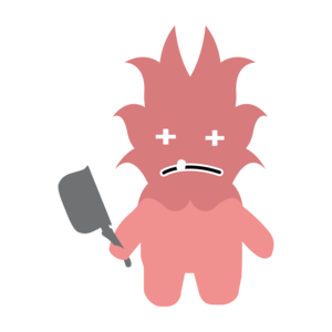 Monster With Knife
