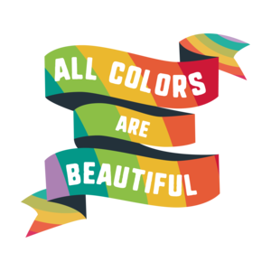 Pride All Colors Are Beautiful