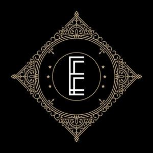 Retro Black Letter E