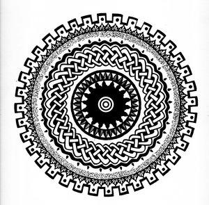 Celtic Knot Mandala 1