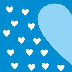 Half Heart In Blue 1
