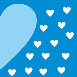 Half Heart In Blue 2