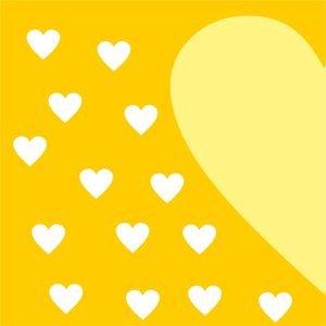 Half Heart In Yellow 1