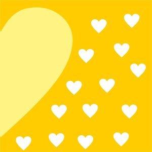 Half Heart In Yellow 2