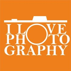 I Love Photography In Orange