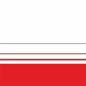 Elegant Red Lines On White