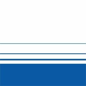 Elegant Blue Lines On White