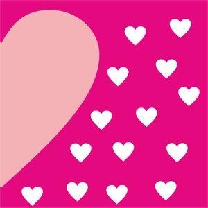 Half Heart In Pink 2