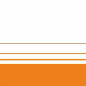 Elegant Orange Lines On White