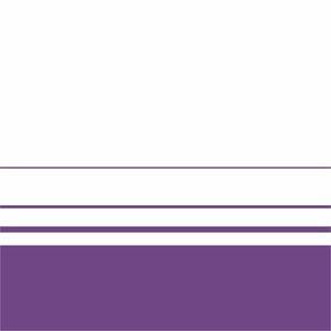 Elegant Purple Lines On White