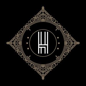 Retro Black Letter H