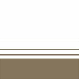 Elegant Brown Lines On White