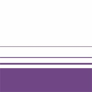 Elegant Violet Lines On White