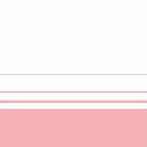 Elegant Baby Pink Lines On White