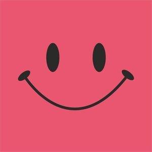 Cute Smile On Light Pink