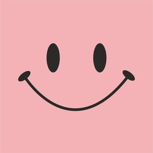 Cute Smile On Baby Pink
