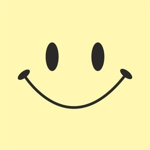 Cute Smile On Light Yellow