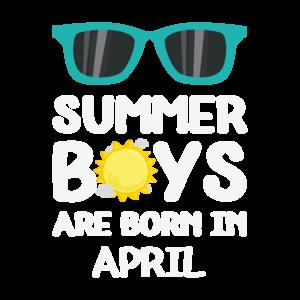 Summer Boys Are Born In April