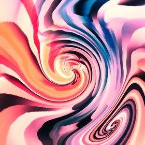 Pink Pattern Illusion