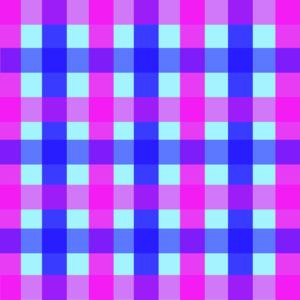 Blue Pink Checks