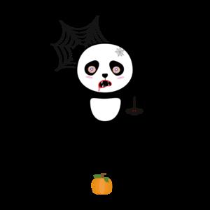 Happy Halloween Horror Panda