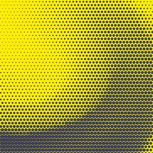 Half Tone Yellow