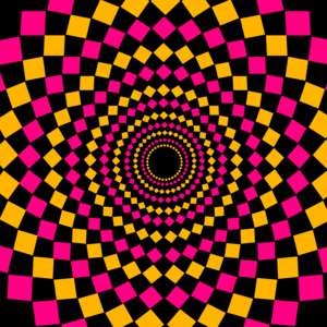 Circular Diamond Pattern