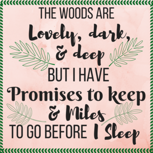 The Woods Are