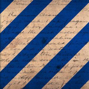 Vintage Blue Stripes