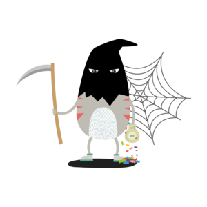 Happy Halloween Horror Cat