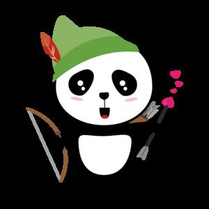 Panda Valentine Archer